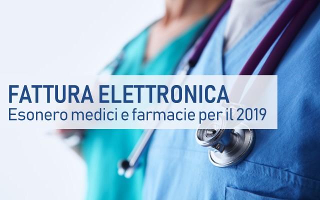 Esonero dei medici dalla fattura elettronica