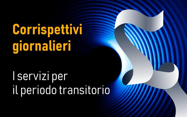 Trasmissione telematica corrispettivi giornalieri: servizi periodo transizione