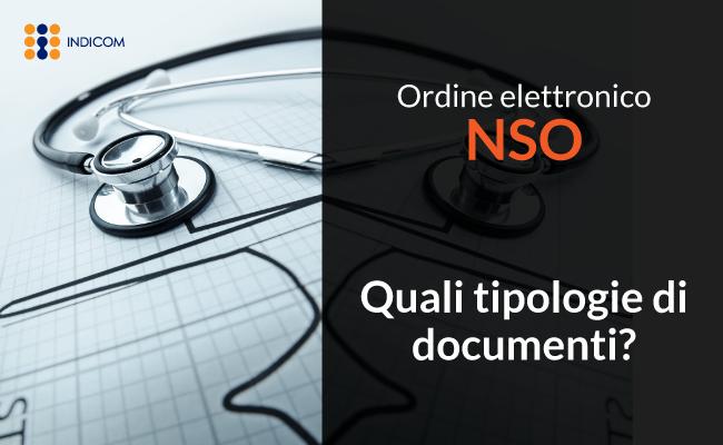 Nodo Smistamento Ordini NSO: tipologie di documenti