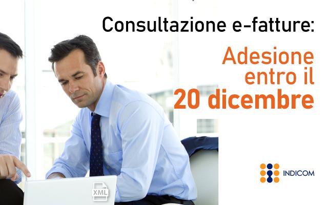 Consultazione fatture elettroniche: proroga al 20 dicembre