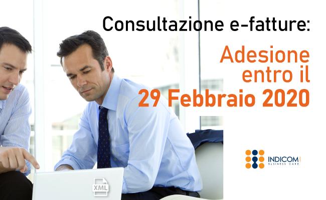 Consultazione fatture elettroniche: proroga al 29 febbraio 2020